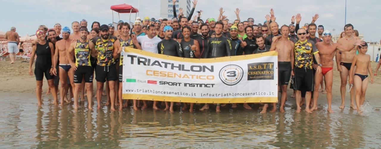 Triathlon 2018 A Cesenatico: Nuoto, Ciclismo E Corsa