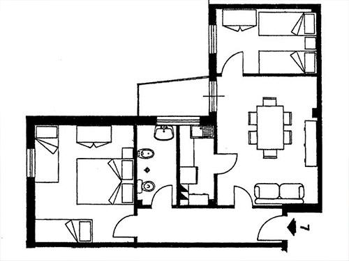 Appartamento Zona Mare Da Ristrutturare